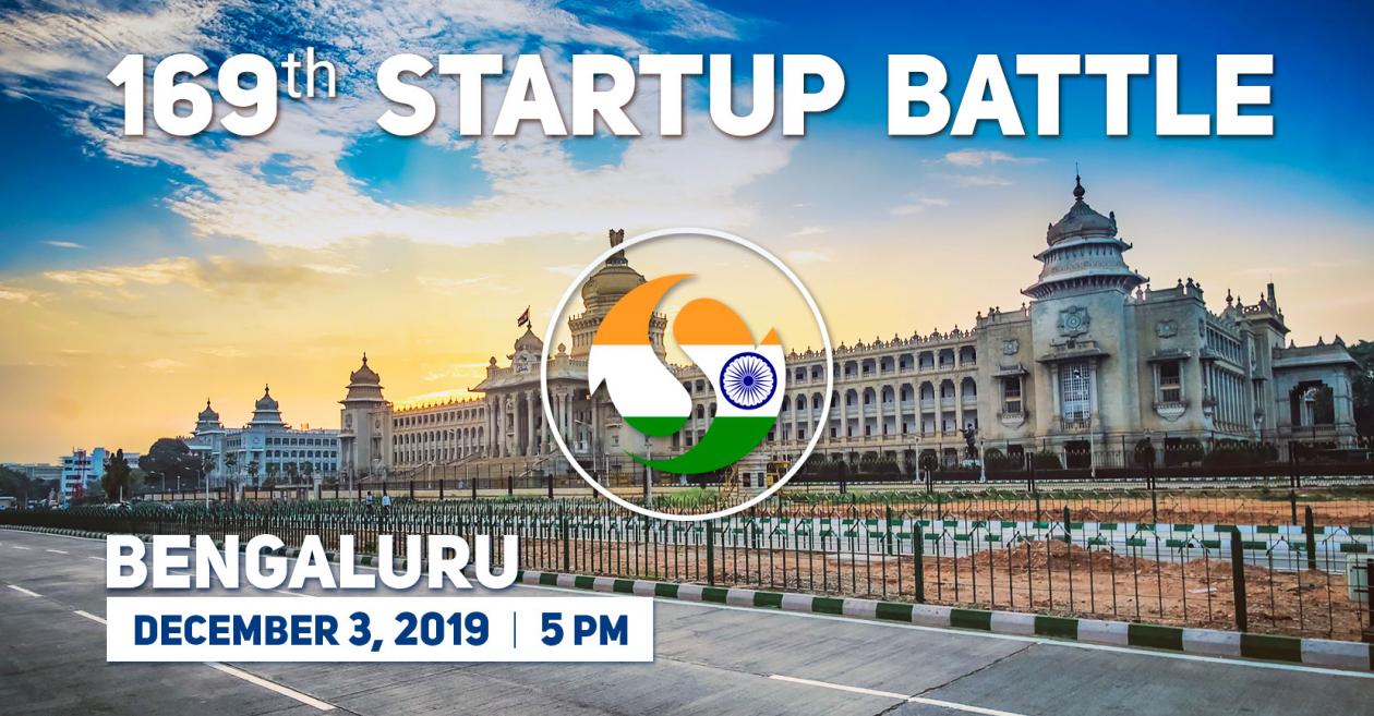 169 Startup Battle in Bangalore, India