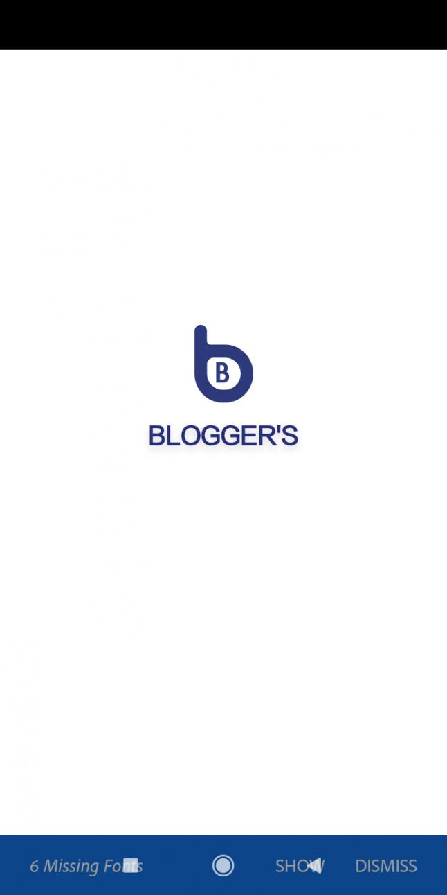 Photo - Blogger's Blog